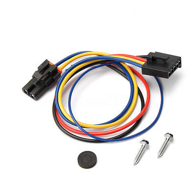 (5 & 2 Wire Pigtail Blower Motor Resistor Harness Fits Buick Cadillac Chevy Gmc)