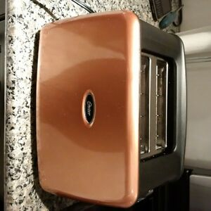 Oster 2 Slice Toaster Copper Finish