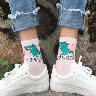 Dinosaur Socks (Women Cute Cartoon Animal Dog Dinosaur Cat Cotton Socks Lovely Funny Unisex Sock )