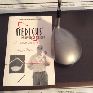 Medicus left handed golf club