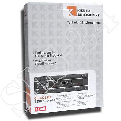 Kienzle CR1223BT AM/FM Auroradio CD USB AUX Bluetooth Freisprechanlage A2DP fähi