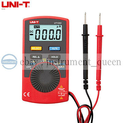 Uni-t Ut120c Pocket Size Type Digital Multimeters Mini Dmm Meter