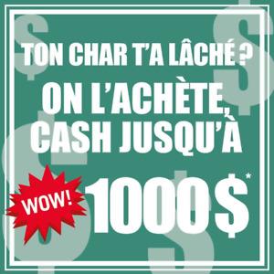 Remorquage De Voiture Pour Scrap Gratuit!