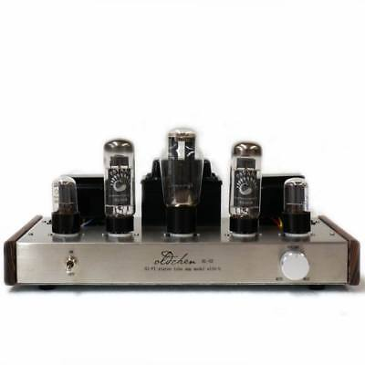 EL34 Single-ended Tube Amplifier Class A  Integrated Amplifier Silver