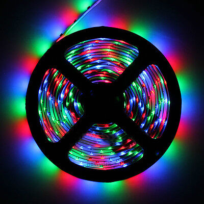 3528 5m RGB 300 LED SMD Flexible Light Strip Lamp 500cm DC 12V on Rummage