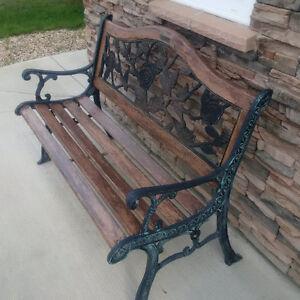 Wood & Metal bench