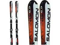 SALOMON XSCREAM9 SKI, BOOTS ,BAG & POLES