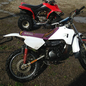 Rt 100 Yamaha dirt bike for sale