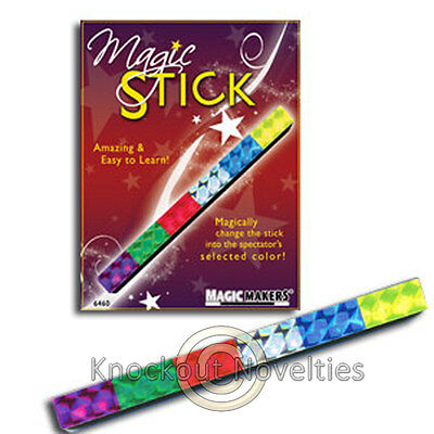 Magic Stick Magician Trick Magic Tricks Amaze Perform Change Colors Directions