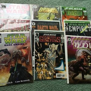 Star Wars Comic Books Excellent Condition