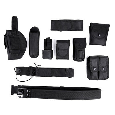 Officer Security Guard Law Modular Enforcement Equipment Duty Belt Rig Gear
