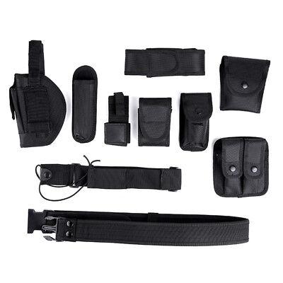 Officer Security Guard Law Modular Enforcement Equipment Duty Belt Rig Gear