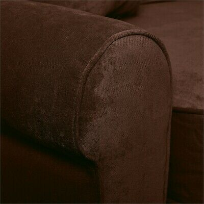 "Serta RTA Copenhagen Collection 61"" Loveseat in Rye Brown"