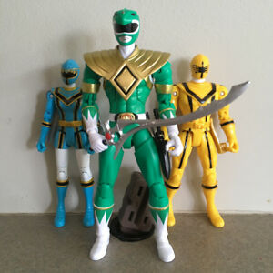 Bandai lot of Power Rangers Action Figures MMPR Mystic Force