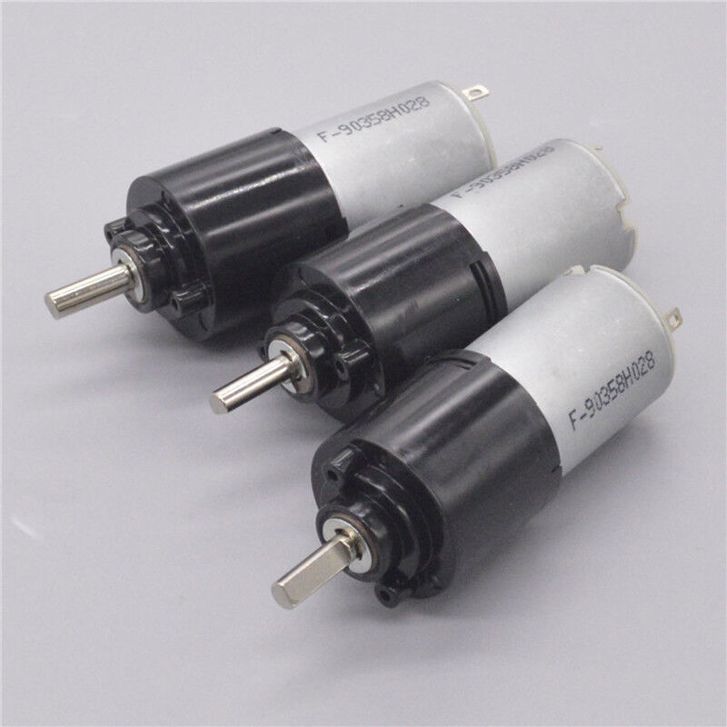 DC 6V~12V 120RPM Micro 280 Planetary Gearbox Gear Motor Speed Reduction Motor