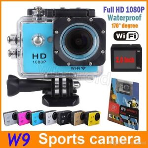 Action Camera with accessories NEW  1080p