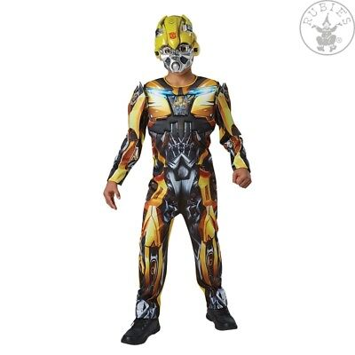 RUB 3630994 Bumblebee Lizenz Kostüm Transformers 5 Deluxe 9 bis 14 (Transformer Kostüm)