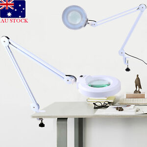 Magnifying Lamp LED 5 Inch SMD 5 Diopter magnifier desk light White 5X