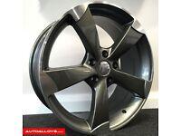 **19' TTRS Alloys & tyres for Audi A4 etc** **DEEP CONCAVE**