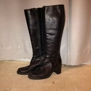 Size 38 Italian Leather Boots