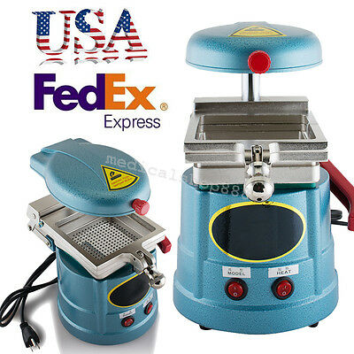 USA! Dental Lab Vacuum Forming Molding Machine Thermoforming Press equipment FDA