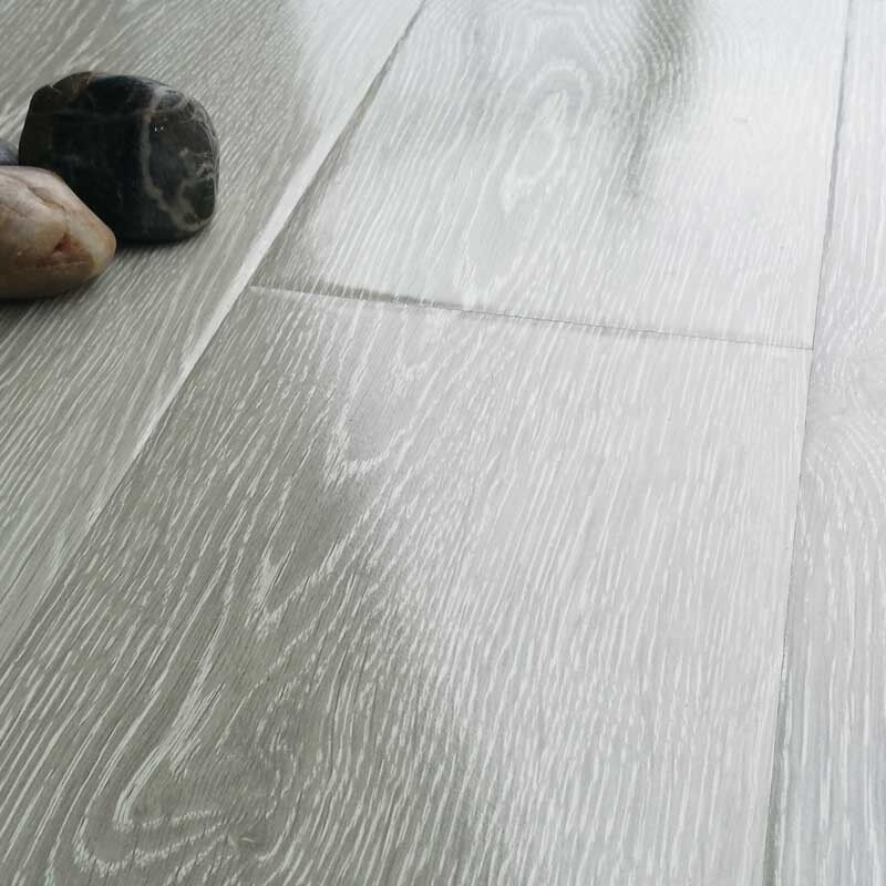 High Gloss Charcoal Laminate Flooring Fully Fitted 20m2 5x4 595