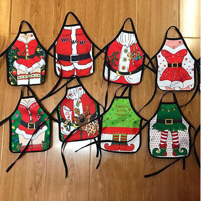 Christmas Table Decoration (Christmas Santa Wine Bottle Apron Cover Wrap Xmas Dinner Party Table)