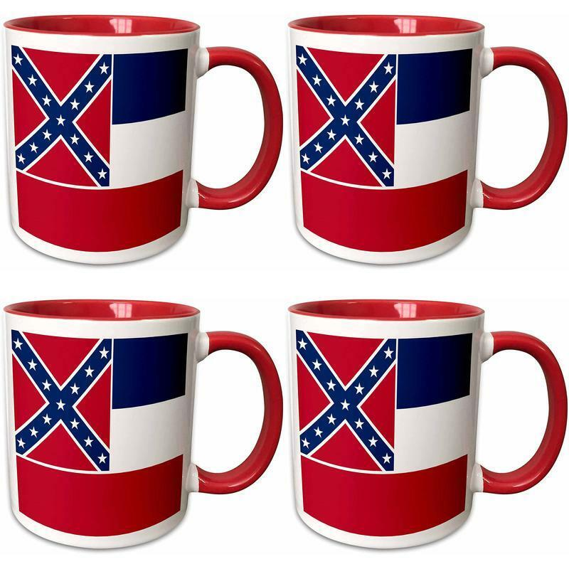 """3dRose 158377_5""""Flag of Mississippi-US American United State"""