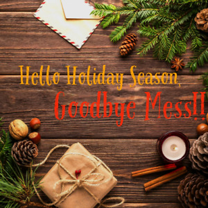 Happy Holiday Cleaning (and more) Services!