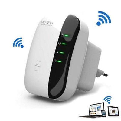 EU 2,4GHz WIFI Repeater Mini Router AP WLAN 802.11n Verstärker Extender 300 Mbit