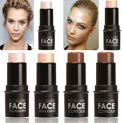 Shimmer Highlight & Contour Stick Makeup Face Body Concealer Pen Stick M71#