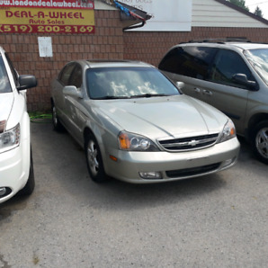 04 chev epica 67km fully loaded safety & 3 month warranty*incl.