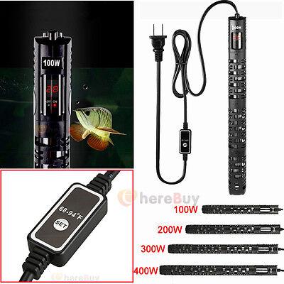 100W 200W 300W 400W LED Microchip Digital Control Aquarium Heater Anti-Explosion