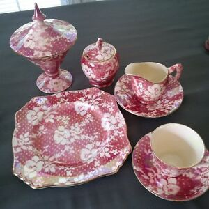 Exquisite Royal Winton China Set for Breakfast or Tea Time!