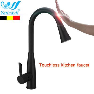 oil rubbed bronze motion sensor kitchen faucet