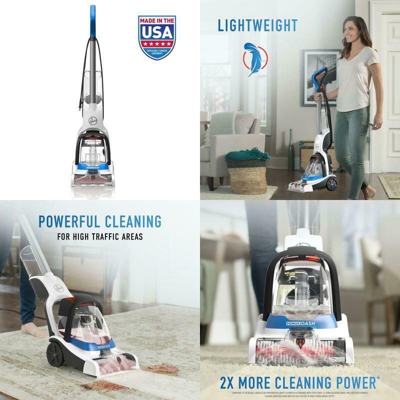 Portable Carpet Cleaner Shampooer Professional Pet Rug High