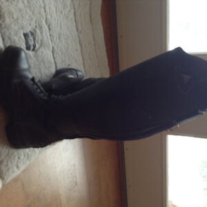 Mountain Horse black leather riding boots sz. 7 as new