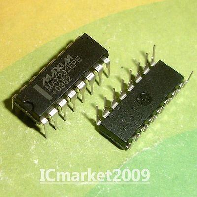 10 Pcs Max232epe Dip Max232 Rs-232 Driversreceivers New