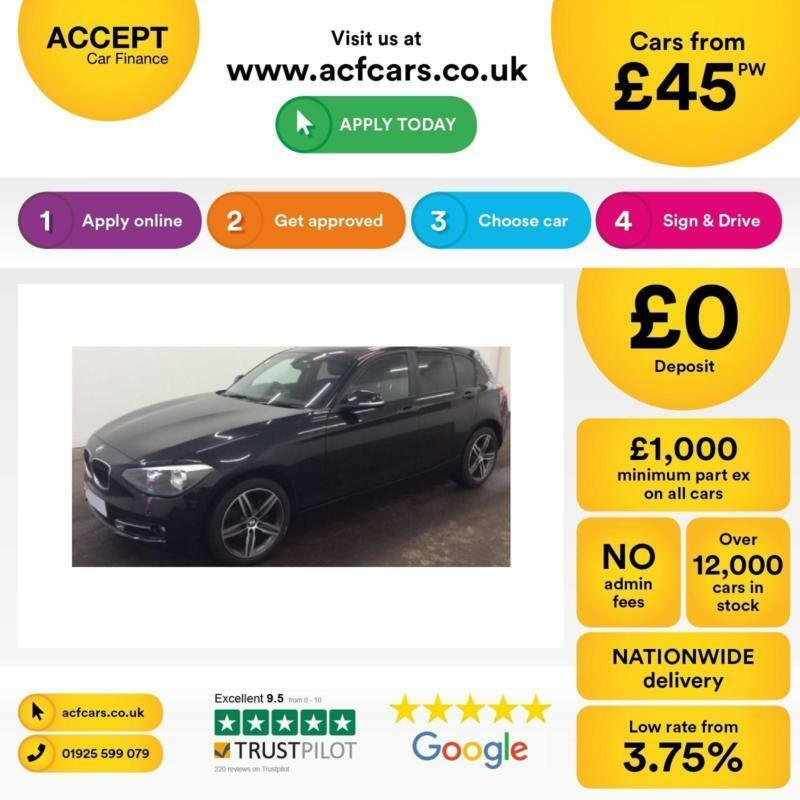 BMW 116 2.0TD Sports Hatch FROM £45 PER WEEK