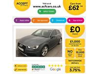 Audi A3 2.0TDI Sportback S Line FINANCE OFFER FROM £62 PER WEEK!