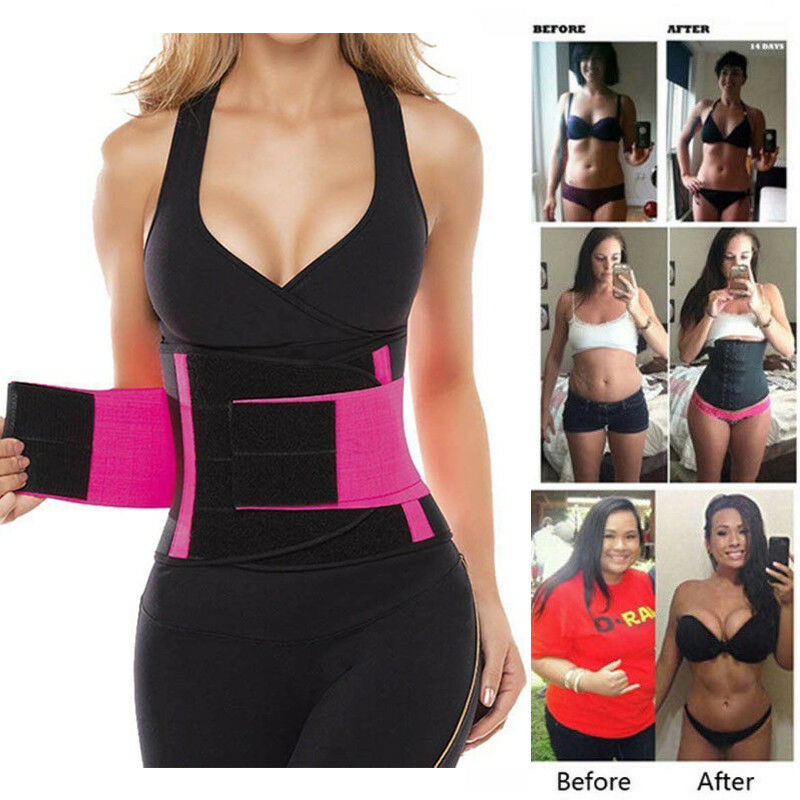 Sport Waist Trainer Weight Loss for Women Sweat Thermo Wrap