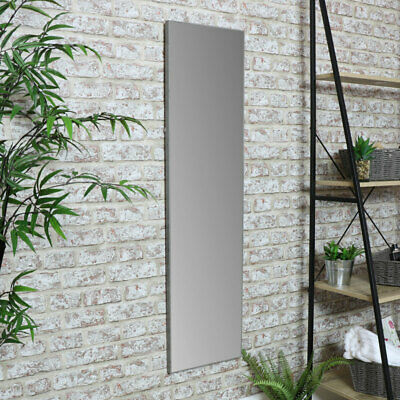 14 x 50 Mirrorize Full Body Length Wall Mount//Floor Mirror̂ Taupe Light Grey