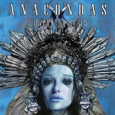 Anacondas - Sub Contra Blues Cd 8 Tracks Hard & Heavy Metal Neu