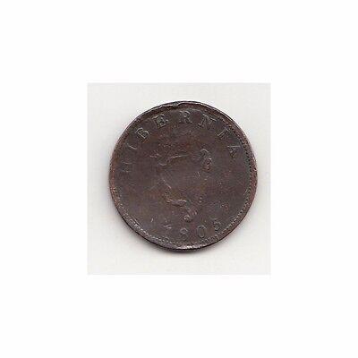 Irland 1/2 Pence 1805 Georgius III  Nr.21/14/16