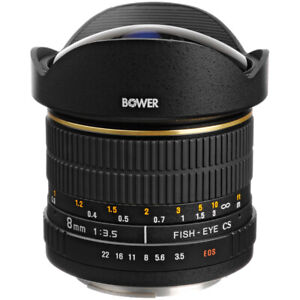 Canon (bower) fist eye lens abc
