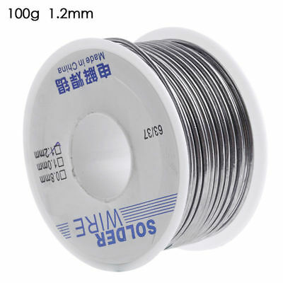 1.2mm Rosin Core Solder 6337 Tin Lead Line Flux Soldering Welding Wire 100g