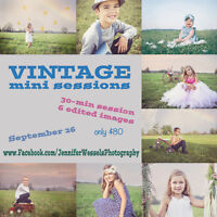 Vintage mini sessions - photography