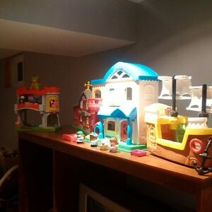 lot of Fisher price toys mint. can deliver London Ontario image 1