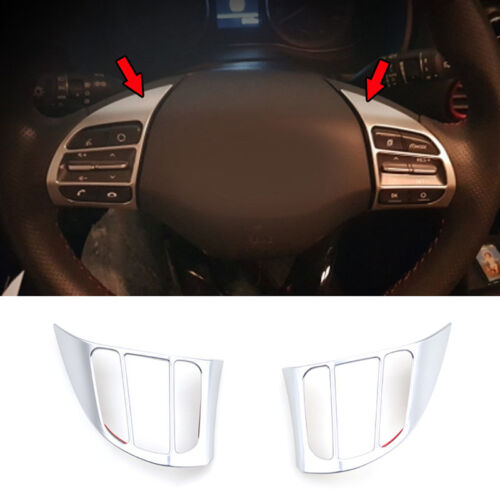 Carbon Fiber Inner Door Handle Bowl Cover Trim For Hyundai Kona Encino 2017-2019