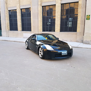 Nissan 350z performance package